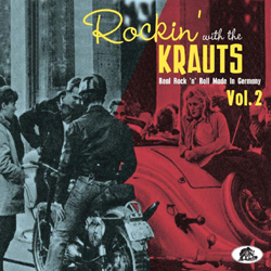 Various Artists - Rockin' With The Krauts Vol.2 Real Rock N Roll Made In Germany - CD