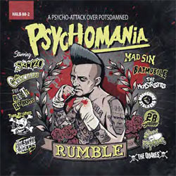Psychomania Rumble - A Psycho-Attack Over Potsdamned - CD