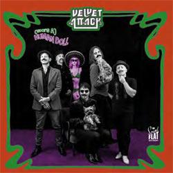 Velvet Attack - (She's A) Human Doll - Vinyl