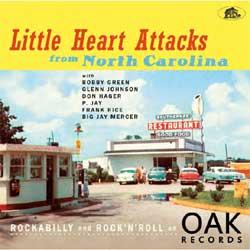 Various Artists - Little Heart Attacks From North Carolina - Vinyl