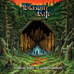 Blazon Rite - Endless Halls Of Golden Totem - CD