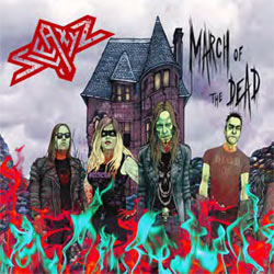Sleazyz - March Of The Dead - CD