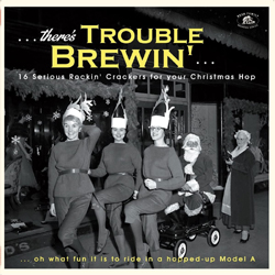 Various Artists - There's Trouble Brewin'…16 Serious Rockin' Crackers - Green Vinyl